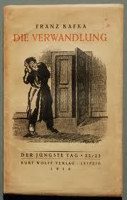"""Portada de la primera edición de """"La transformación"""", de Franz Kafka"""