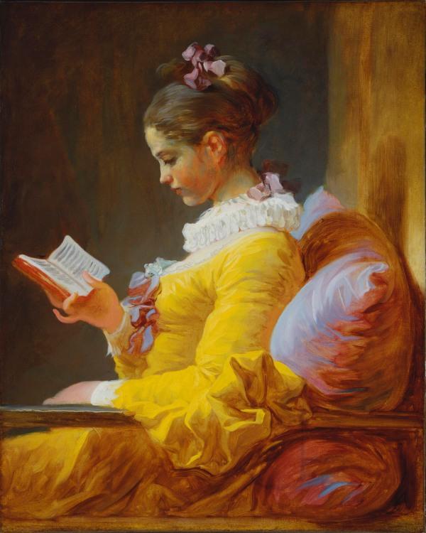 """La lectora"", de Jean-Honoré Fragonard (circa 1770-1772)"