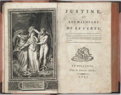 """Edición de """"Justine"""""""