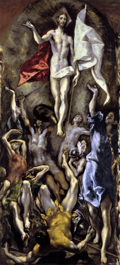 """""""Resurrección de Cristo"""", de El Greco"""